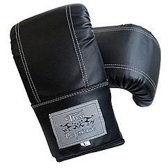 Снарядні рукавички Thai Professional BGA6 Чорні