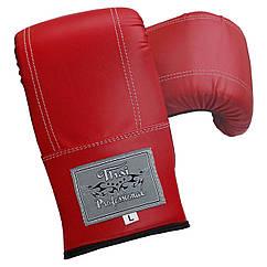 Снарядные перчатки Thai Professional BGA6 Красные