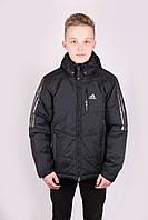 Куртка мужская в стиле Adidas W1704M Black Адидас Размеры M