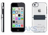 Чехол Macally Hardshell case with stand Apple iPhone 5C Black (KSTANDP6-B)