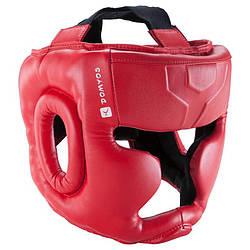 Шлем защитный боксерский детский Domyos