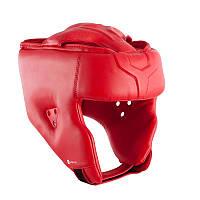 Шлем защитный боксерский открытый Domyos