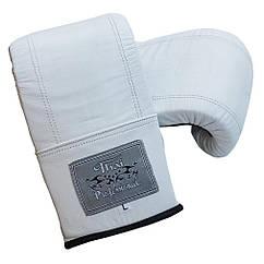 Снарядні рукавички Thai Professional Білі BG6