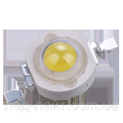 Потужний світлодіод 1Вт білий (3200К/4500К/6500К)