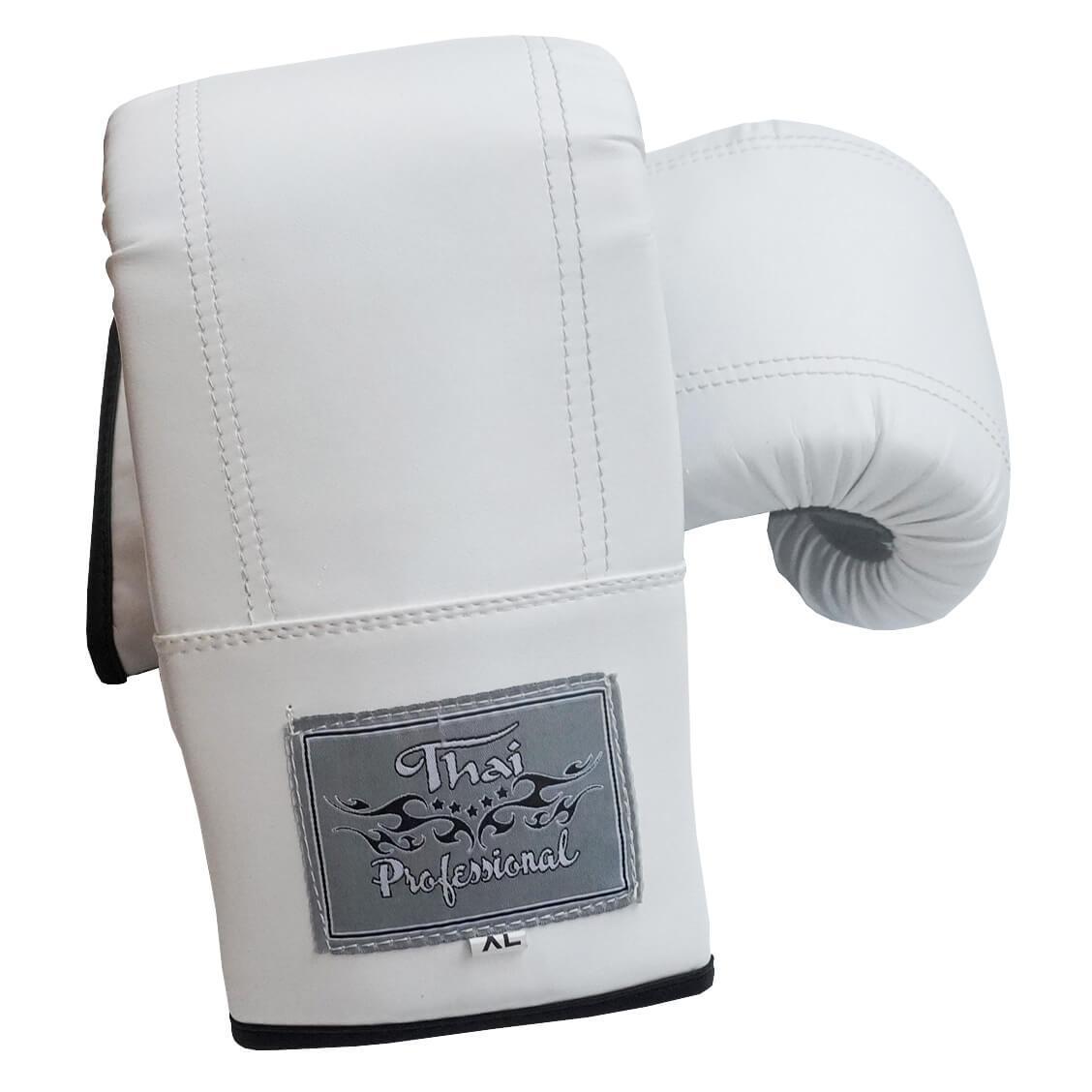 Снарядные перчатки Thai Professional BGA6 Белые