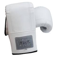 Снарядні рукавички Thai Professional Білі BGA6