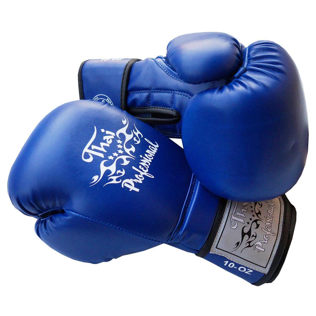 Боксерские перчатки Thai Professional BG3 Синие