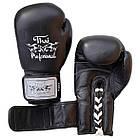 Боксерские перчатки Thai Professional BG5VL Black, фото 4