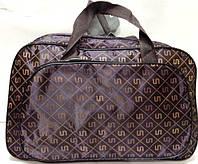 Дорожные сумки, саквояжи ТЕКСТИЛЬНЫЕ (фиолет принт)29*46