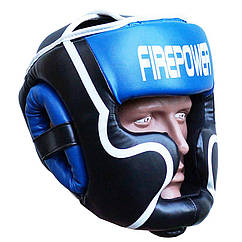 Шлем боксерский для тренировок FIREPOWER FPHGA5 Blue