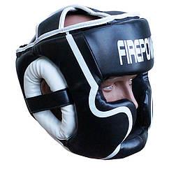 Шолом боксерський для тренувань FIREPOWER FPHGA5 Black