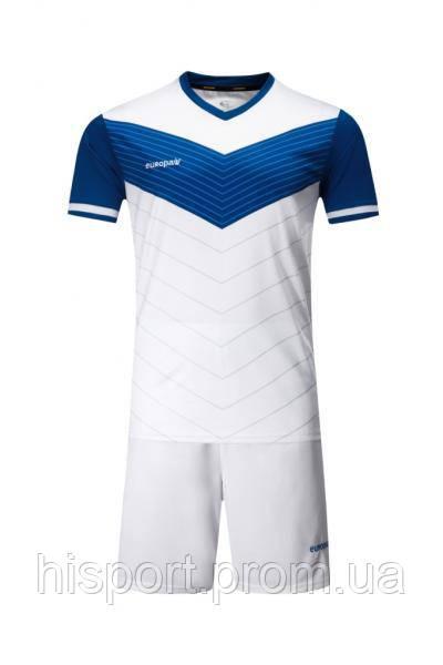 Игровая спортивная форма для команд бело-синяя 019 Europaw