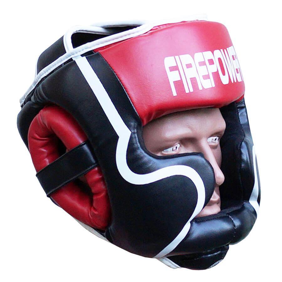 Шолом боксерський для тренувань FIREPOWER FPHGA5 Red