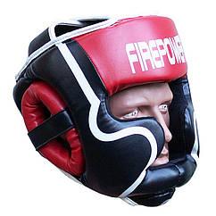 Шлем боксерский для тренировок FIREPOWER FPHGA5 Red