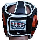 Шлем боксерский для тренировок FIREPOWER FPHGA5 Orange, фото 3