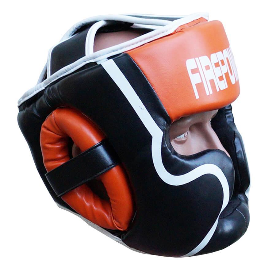 Шлем боксерский для тренировок FIREPOWER FPHGA5 Orange