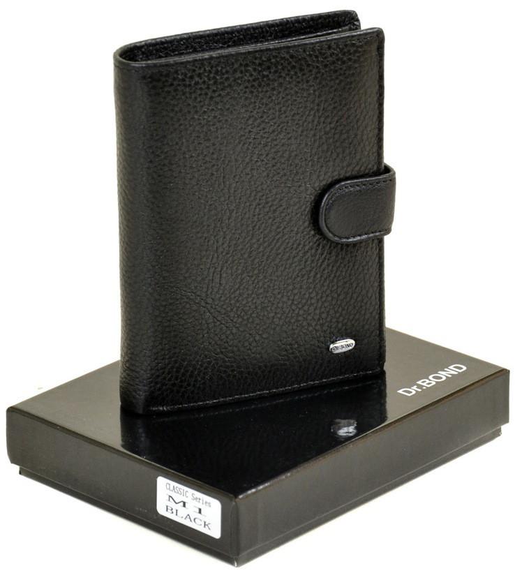 Мужской кожаный кошелек портмоне правник Dr.Bond Под документы натуральная кожа