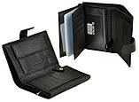 Мужской кожаный кошелек портмоне правник Dr.Bond Под документы натуральная кожа, фото 3