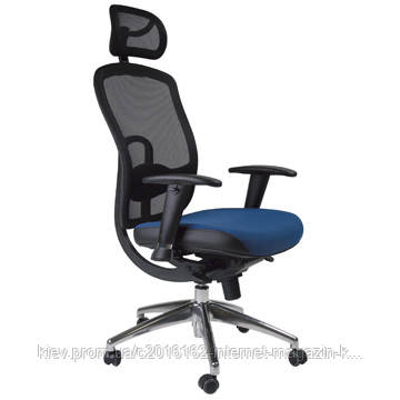 Кресло офисное Office4You LUCCA  blue 64x63 5xH123-131cм