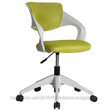 Кресло офисное секретаря Office4You TORO  green  white outer shell 59x76xH88cm