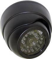 Камера муляж Купольная A28, Камера видеонаблюдения - муляж, Купольная камера обманка, Камера муляж