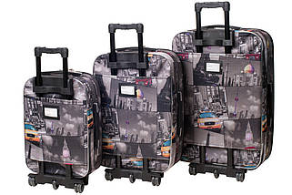 Набор чемоданов Bonro Style 3 штуки City (10010313), фото 2