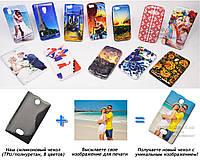 Печать на чехле для Nokia Asha 500 (Cиликон/TPU)