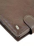 Мужской кожаный кошелек правник Dr.Bond натуральная кожа, фото 2