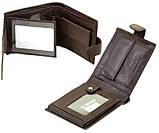 Мужской кожаный кошелек правник Dr.Bond натуральная кожа, фото 3