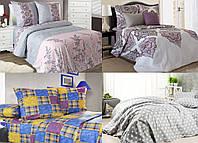 Полуторное постельное белье, белорусская бязь - 100% хлопок