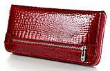 Женский кожаный кошелек клатч на молнии ST большой натуральная кожа, фото 2