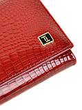 Женский кожаный кошелек BRETTON лаковый, фото 3