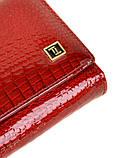 Женский кожаный кошелек BRETTON с визитницей лаковый, фото 3