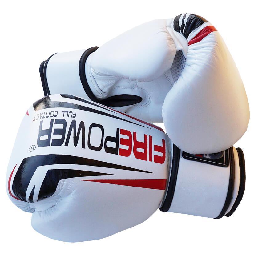 Боксерские перчатки Firepower FPBG12 Белые