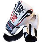 Боксерские перчатки Firepower FPBG12 Белые, фото 4