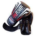 Боксерские перчатки Firepower FPBG12 Черные, фото 4