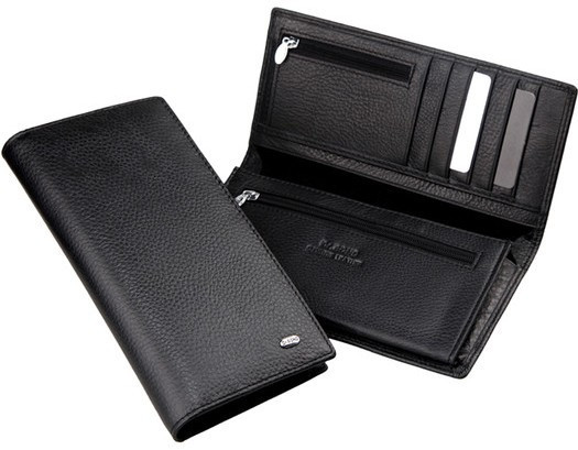 Мужской кожаный кошелек портмоне ST натуральная кожа