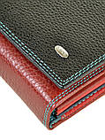 Женский кожаный кошелек Dr.Bond с визитницей, фото 3