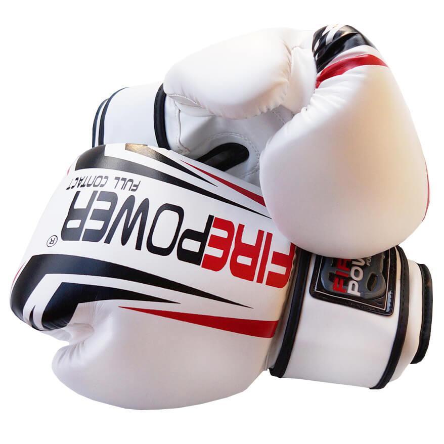 Боксерські рукавички Firepower FPBGA12 Білі