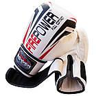 Боксерські рукавички Firepower FPBGA12 Білі, фото 6
