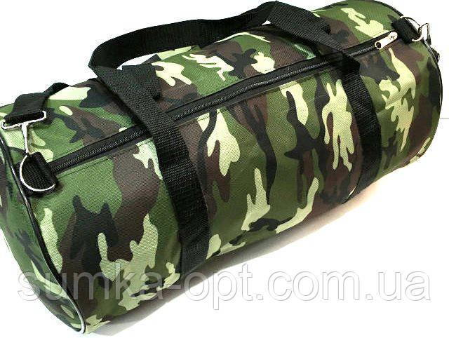 Военные дорожные сумки камуфляжные (камуфляж)24*47