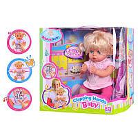 Пупс Warm Baby хлопающий в ладоши, поющий и играющий музыку