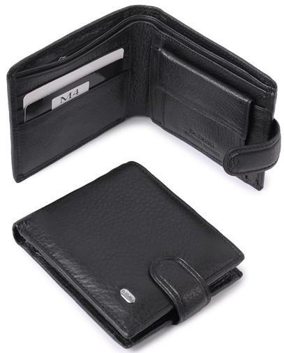 Мужской кожаный кошелек портмоне Dr. Bond натуральная кожа