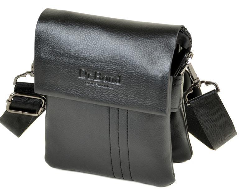 Мужская кожаная сумка планшет Dr.Bond маленькая - GOOD-SHOP.com.ua c638d501400