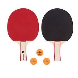 Набір ракеток для настільного тенісу Artengo FR 130 x 2/2 *