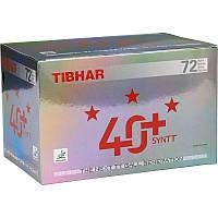 Шарики для настольного тенниса Tibhar 3* 40+ Syntt x 72