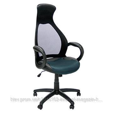Кресло офисное Office4You SANTO  black - dark grey  65x67xH118 5-128 5cm