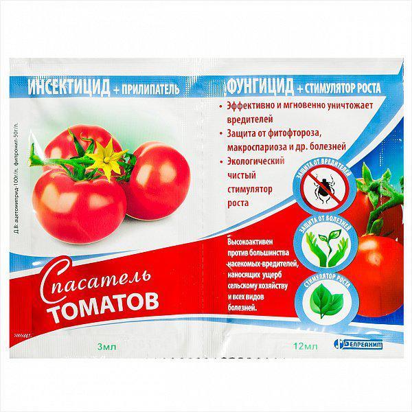 Спасатель томатов картофеля баклажан фунгицид-инсектицид стимулятор