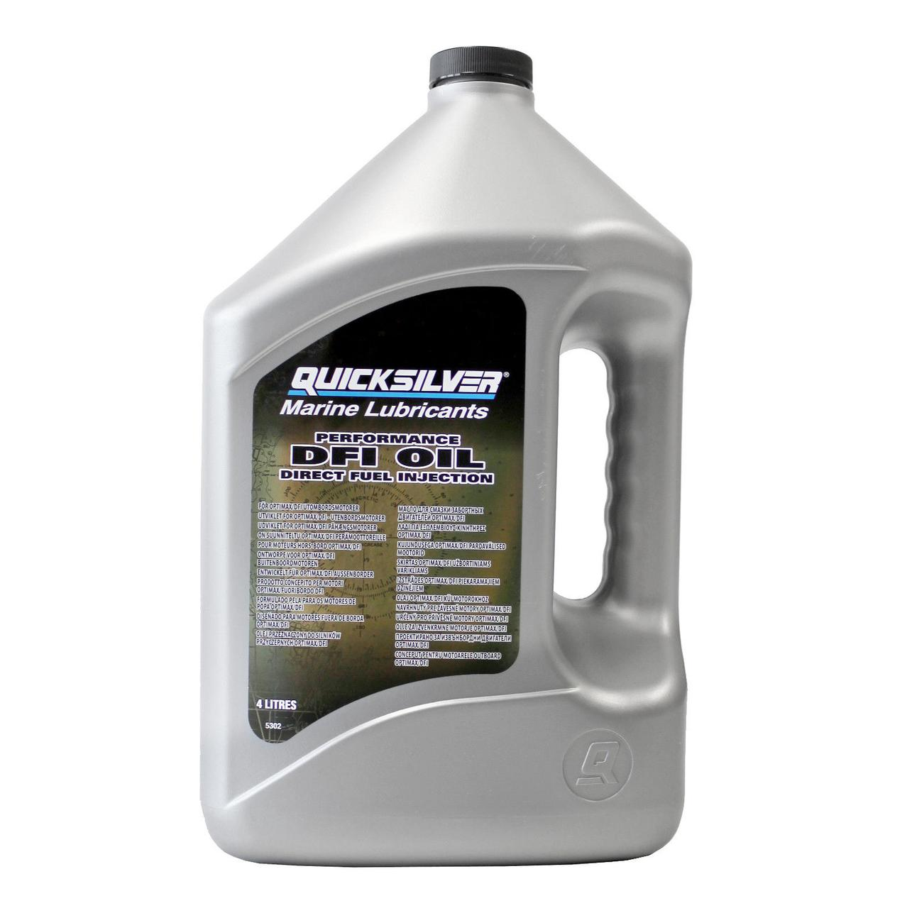 Масло моторне Quicksilver DFI Oil, для OPTIMAX (4л)