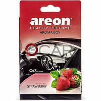 Areon Aroma Box Strawberry освежитель воздуха под сиденье, 70 г
